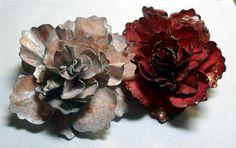 Paper cabbage rose flower tutorial
