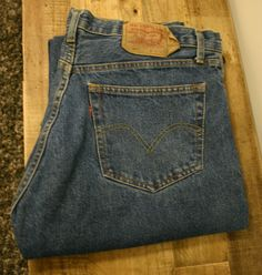 Vintage Made In USA Levis 501's XX Size 36/30 Outstanding Condition Near Perfect Older Late 70's Jeans! Leather Back Tag.
