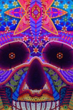 Huichol Art Covers by Alejandro Cortez, via Behance
