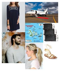 """""""Flying to the Galápagos Islands for their Honeymoon"""" by hrh-amelia-of-croatia ❤ liked on Polyvore featuring House of Fraser and Kate Spade"""
