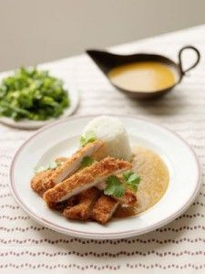 Hairy Bikers' Japanese chicken Katsu curry .. Must try and see if better than yo sushi!