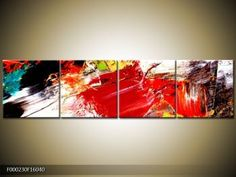 Abstraktní obrazy | Čtyřdílný 160x40 cm | TopObrazy.cz Tapestry, Painting, Home Decor, Art, Hanging Tapestry, Art Background, Tapestries, Decoration Home, Room Decor