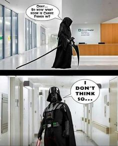 darth Vader how could you have lost