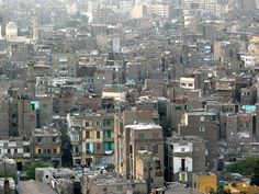 Panorama of old Cairo
