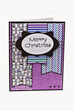 I actually finished this Doodlebug 6x6 paper pad a couple of weeks ago. But since I hadn't sent out my Christmas cards yet, I held off with...