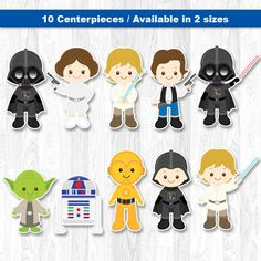 Star Wars Centerpiece Star Wars Table Centerpiece by KidzParty