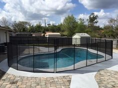 Orlando Pool Guard - Choose only quality pool guard fence when surrounding your pool to protect your children! #PoolFence #PoolSafety #BabyBarrier