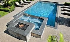 inground pool landscaping - Google Search