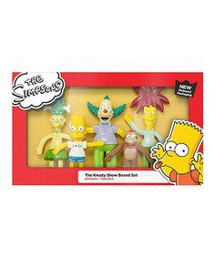 Simpsons Halloween Bendables Boxed Set #1