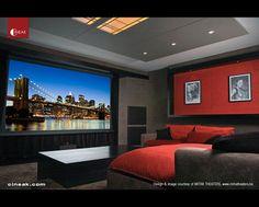 Cineak Intimo Seats in Home Theater - modern - media room - san ...