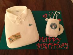Lacoste starbucks cake by noodys