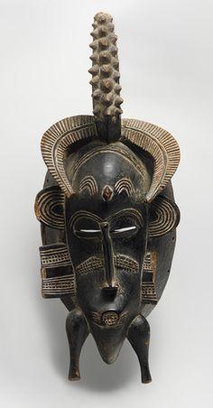 Face Mask (Kpeliye'e) [Côte d'Ivoire; Senufo] (1979.206.216) | Heilbrunn Timeline of Art History | The Metropolitan Museum of Art
