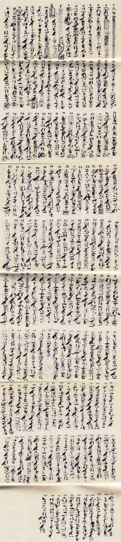 ::: Papyrus de Berlin 3024 :::