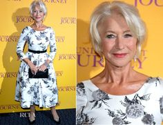 Helen Mirren In Suzannah - 'The Hundred Foot Journey' London Premiere - Red Carpet Fashion Awards