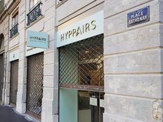Enseignes <br> pour Hyppairs ( Lyon) Lyon, Garage Doors, Outdoor Decor, Home Decor, Applique Letters, Decoration Home, Room Decor, Interior Design, Home Interiors