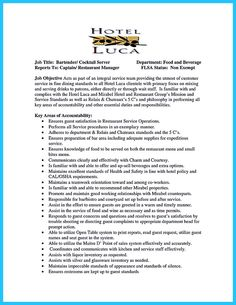 Sample Custom Bartending Resume With Jane Doe For Work Experience With     Excellent Resume For Work