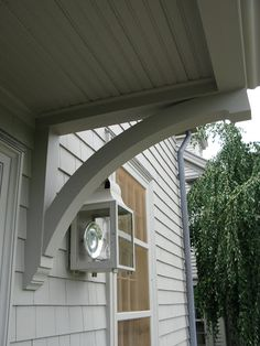 Custom Structural Brackets For Small Roof Overhang