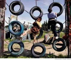 The Tire Play Garden #Tireplay #ReTIre #RubberofftheRoad