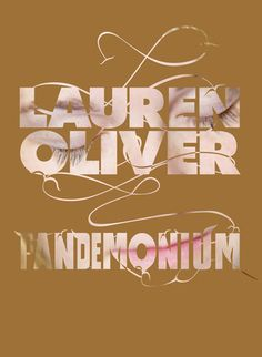 Czech cover of the book Pandemonium by Lauren Oliver Lauren Oliver, Beloved Book, Luxor, Ebook Pdf, The Book, Roman, Place Cards, Place Card Holders, Cover
