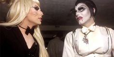 This is a love story. Rupaul, Alaska And Sharon, Alaska Thunderfuck, Sharon Needles, The Vivienne, Lip Sync, Love Your Hair, I Am A Queen, Double Trouble