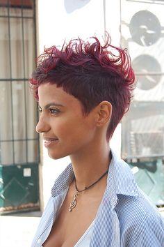 short'n red by wip-hairport, via Flickr