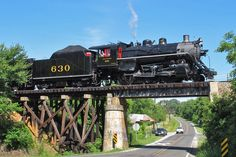 Southern No. 630 on an excursion at Barber Junction, N.C., on June 16, 2012.