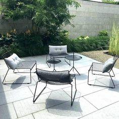 Garden Furniture, Outdoor Furniture Sets, Furniture Design, Outdoor Lounge, Outdoor Chairs, Outdoor Decor, Hay Chair, Scandinavia Design, Lounge Chair Design