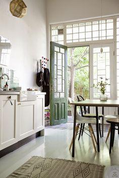 Droomhuis in Gothenburg Mooie deur!