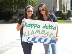 KLAMBAKE! look at that awesome sign!