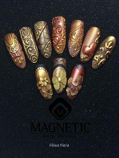 Gel, Magnetic Nail, Gel Paste, Nail Art, Maga Nails