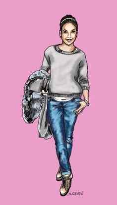 So wird ein legeres Outfit glamourös: Die  5 Diva-Tricks der Jennifer Lopez im Blog der Modeflüsterin.