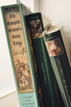 I read the Grimm's fairy tales. I Love Books, Great Books, Books To Read, My Books, Story Books, Blue Books, Reading Books, Ex Libris, Storybook Cottage