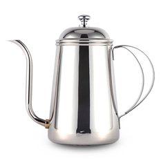 Gooseneck Kettle Pour Over Coffee Hand Drip Pot Stainless Steel Homart 700ml