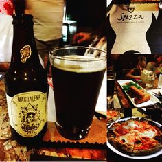 Dinner  #spizza #cervezaartesanal #birraartigianale #pizza #Lima #Perù #lifeinperu