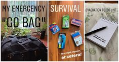 A survival newbie creates an emergency 'go bag' from scratch to prepare for potential future disasters. Here are her tips! Emergency Go Bag, Emergency Preparedness, Picture Source, Sleeping Under The Stars, Go Bags, Think On, Bug Out Bag, Survival Life, Good To Know