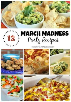 12 Easy March Madness Party Recipes