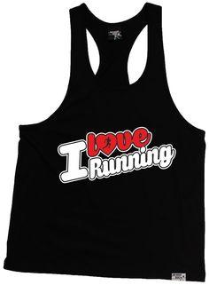 Personal Best I Love Running Men's Tank Top