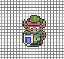 Link Cross Stitch Pattern