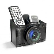 Porta Retrato e Organizador Câmera