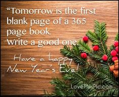 Tomorrow Is A New Year new years new year new years quotes new year quotes new years eve new years eve quotes happy new years quotes for family happy new years eve quotes quotes for new years eve happy new year quotes for friends best new year quotes