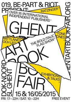 Art Book Fair in Gent