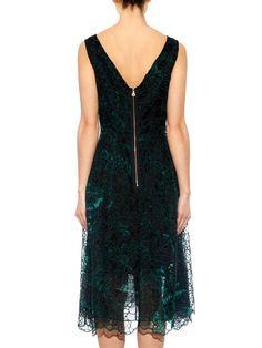 Mara embroidered silk-organza dress | Erdem | MATCHESFASHION.COM AU