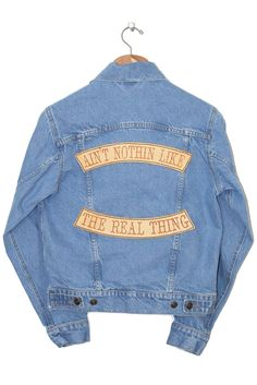 The Jacket Our new denim development. This is a new jacket, it is not a reworked…
