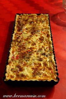 Tonnikala on herkkuani, joten siitä piirakan tekoon. Muutamassa blogissa olen nähnyt piirakan ohjeen, joista yksi on ainakin He... Sweet And Salty, Lasagna, Cooking Recipes, Koti, Baking Ideas, Ethnic Recipes, Bedroom, Lasagne, Room