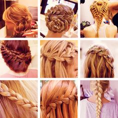 Looking for a cute look over the summer? Try different types of braids, they are too cute to resist!