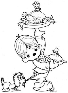 Clown Waiter Precious Moments Coloring Pages Coloring Pages Fall Coloring Pages Coloring Pages