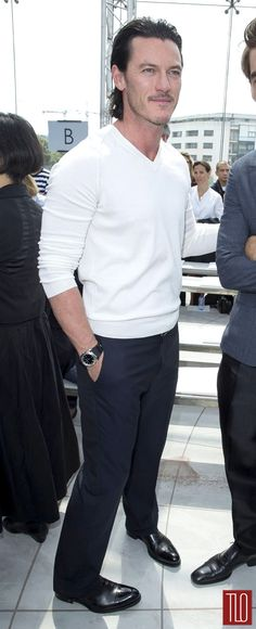 Actor Luke Evans was spotted at the LV Fashion show in Paris France, check out his nice suit and let us know what you think of his style. … Continue reading →
