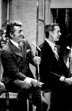 Dean Martin and Johnny Carson / AS1966