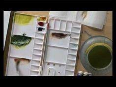 Watercolour As If By Magic Four - Part One - YouTube