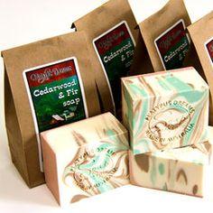 Cedarwood and Fir Palm Free Soap